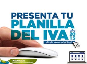 Procedimiento para envío electrónico de la planilla del IVA